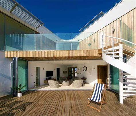 modern beach houses modern beach house in east sussex with glass and timber