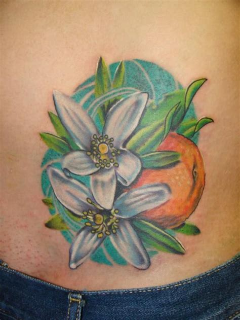 orange blossom tattoo 58 best sleeve idea board thing images on