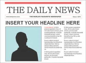 tabloid article template free newspaper template cyberuse