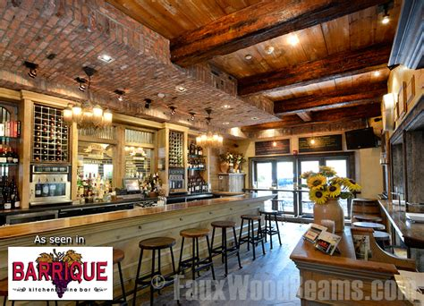 Vintage Rustic Home Decor by Affordable Restaurant D 233 Cor With Beams Interior Design