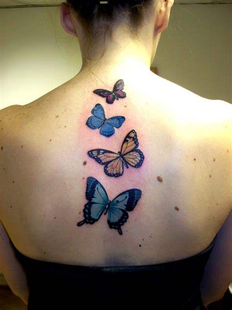 tattoo back butterfly 25 sweet butterfly tattoos creativefan