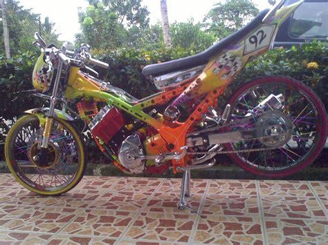 gambar motor drag spin modifikasi sepeda motor