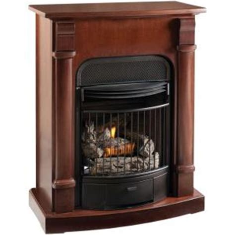 Home Depot Propane Fireplace by Procom 29 In Convertible Vent Free Propane Gas Fireplace