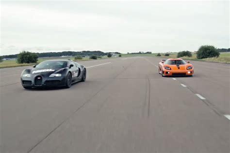 koenigsegg bugatti bugatti veyron vs koenigsegg agera drag race bugatti