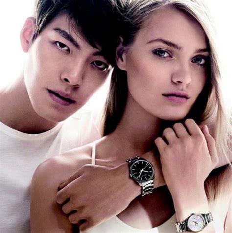 Jam Tangan Mewah Ck Calvin Klein woo bin model asia timur pertama peraga jam tangan