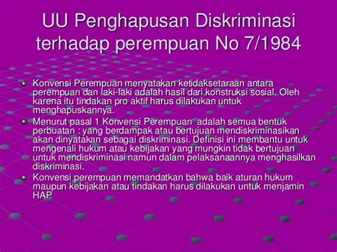 Gender Dan Pembangunan gender dan pembangunan