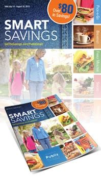 Smart Saver Set 18 new publix booklet smart savings with 80 in savings