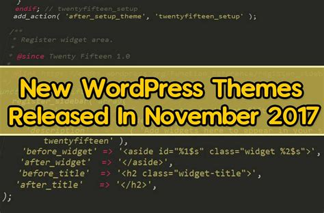 new wordpress themes released in november 2017 frip in