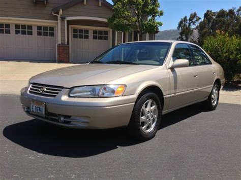 1998 Toyota Camry Xle Purchase Used 1998 Toyota Camry Xle Sedan 4 Door 3 0l In