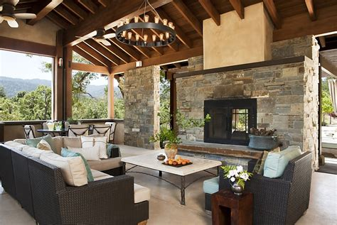 sided fireplace outdoor pool pavilion now a comfortable relaxing shelter sfgate