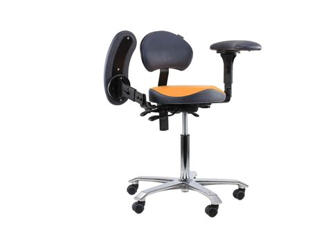 Work Stools With Back Support by Dental Stool With Armrests Back Support Trials Available