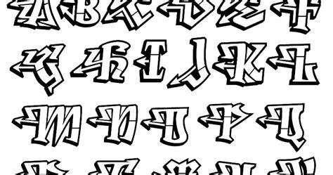 lettere alfabeto graffiti graffiti alfabeto em graffiti
