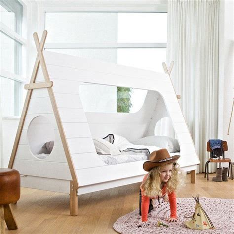 teepee bed wooden teepee beds teepee cabin bed