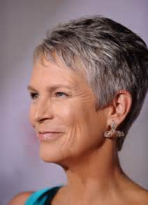 pictures of curtis haircuts jamie lee curtis dangling diamond earrings jamie lee