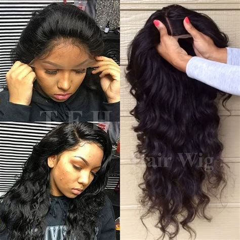lace front wigs human hair wigs weave hairstyles beauty products 100 malaysian human hair lace front wig glueless 360 full