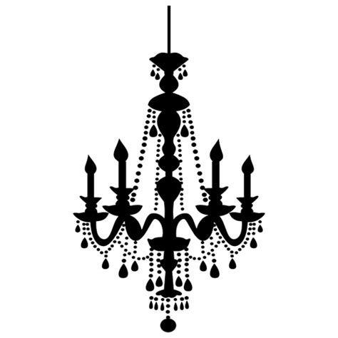 Chandelier Picture Chandelier Wall Sticker Spin Collective Uk