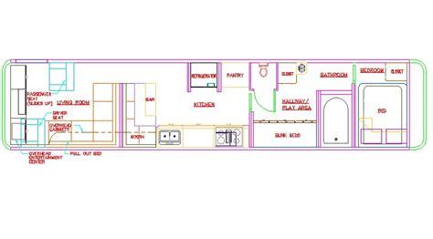 double decker bus floor plan sle floorplans for bus conversion