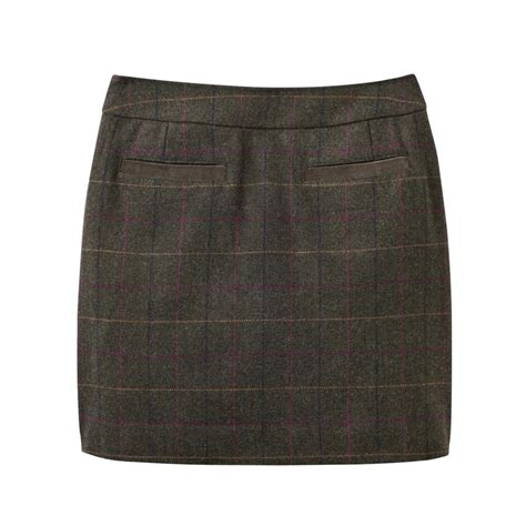 joules fearne tweed mini skirt v womens from