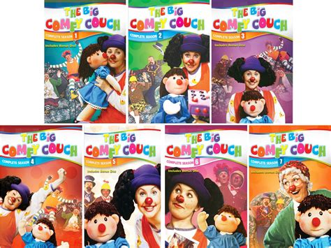 The Big Comfy Episodes by The Big Comfy Complete Tv Series Season 1 2 3 4 5 6