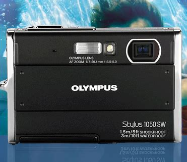 the new olympus stylus 1050 sw can be controlled just by