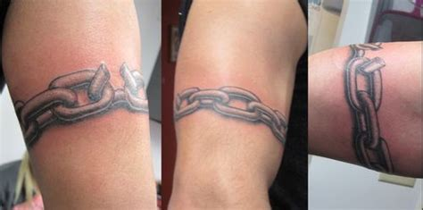link chain tattoos designs chain armband ideas armband