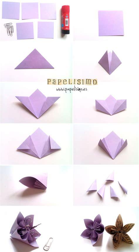 imagenes de flores origami paso a paso flor de papel papelisimo