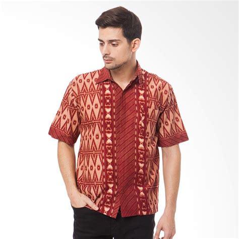 Batik Trusmi Km Kemeja Pria Green jual batik trusmi snkt km kemeja pria harga