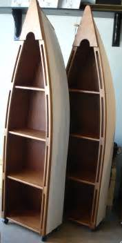 Canoe Bookshelves More Country Fair Items On Display Pine Canoe Bookshelf On