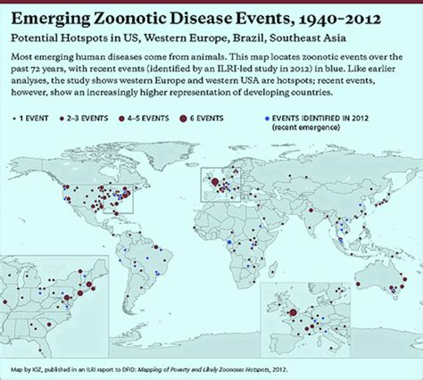 the study of maps new evidence on zoonotic emerging disease hotspots in us