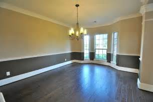 Dining Room Molding Ideas Elegant Formal Dining Room With Upgrade Two Tone Interior
