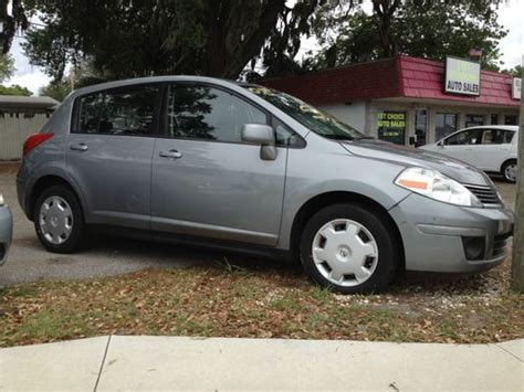 grey nissan versa hatchback find used 2008 gray nissan versa s hatchback 4 door 1 8l