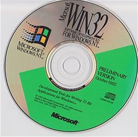 Windows NT 3.1 October 1992 beta   Computer History Wiki
