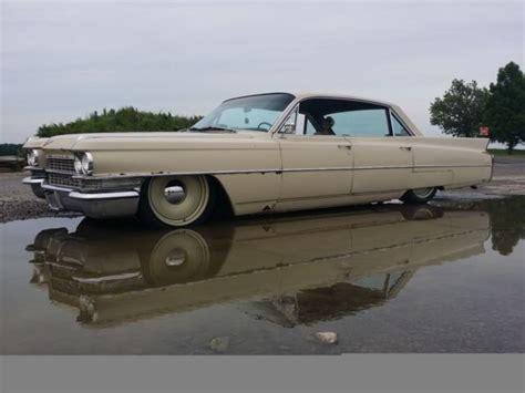 bagged cadillac bagged 1963 cadillac sedan