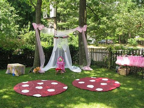 backyard princess party party frosting fairy party ideas and inspiration