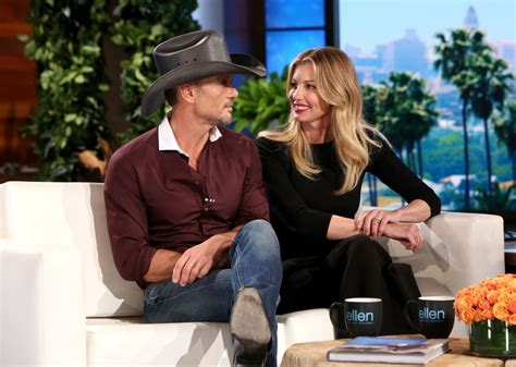 tim mcgraw ellen how 10 celebrity couples first met and eventually fell in love