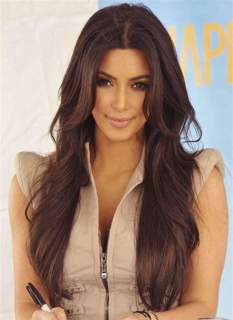 hairstyles for long hair kim kardashian kim kardashian long hairstyles brown hair popular haircuts