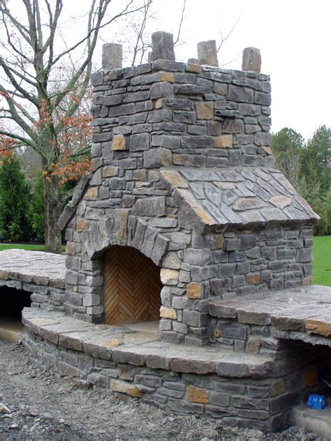 building outdoor fireplace outdoor fireplaces brick outdoor fireplaces