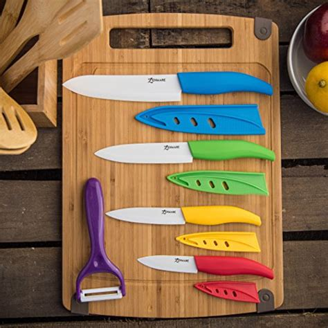 colorful kitchen knife set ebay 9 piece multi color ceramic cutlery kitchen knives with