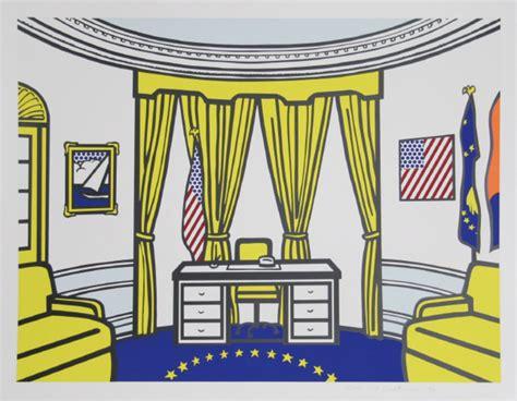 oval office paintings roy lichtenstein artist portfolio picassomio