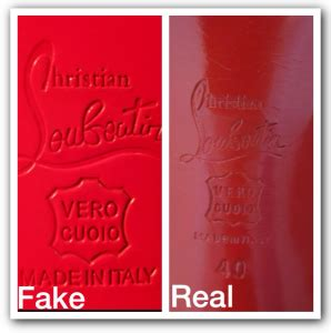 How To Tell If A L Is Real by How To Spot Christian Louboutin Shoes Luxury Vintage