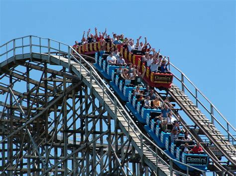 cedar point images gemini roller coaster