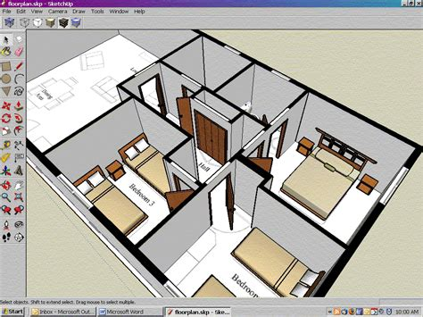 2d Floor Plan Software Free by Sketchup 3d Modelling And Design Tools Downloads At