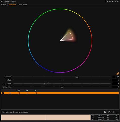 color capture editor de color en capture one
