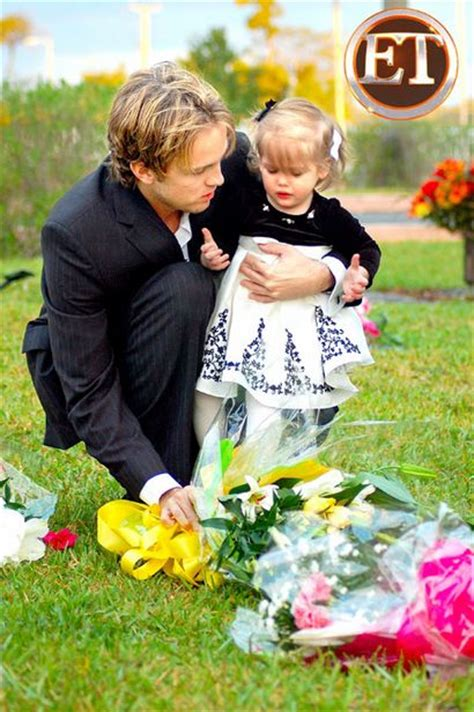 Larry Birkhead Updates His Web Site by Cele Bitchy Baby Dannielynn Visits