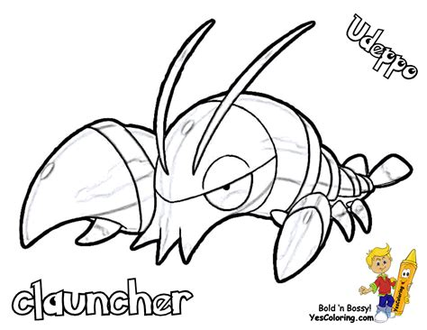 pokemon xy coloring pages printable images pokemon images