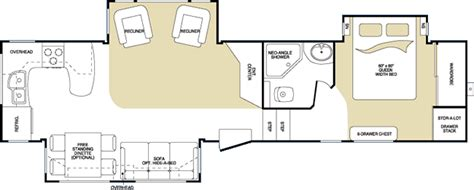 2007 montana 5th wheel floor plans 2007 keystone montana fifth wheel rvweb com