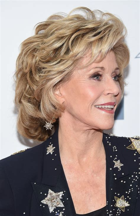 jane fonda hairstyles 2015 jane fonda 2015 chaplin award gala in new york city