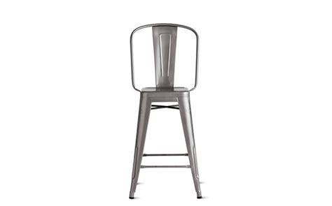 tolix 174 marais counter stool with high back design within