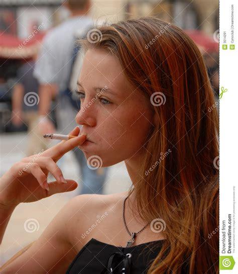 young girl smoking cigarette stock photos images smoking girl stock image image of woman depression