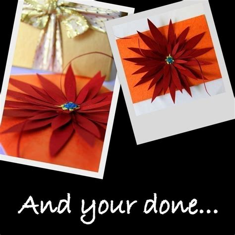 How To Make Lilies Out Of Paper - 3 d cardboard 183 how to make a paper flower
